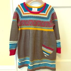 Hanna Andersson sweater dress size 100/ 4t
